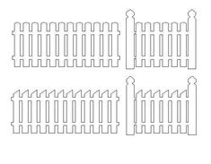 Fence - http://monicascreativeroom.se/category/cutting-files/flowers-and-garden