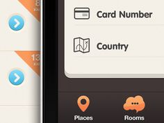 Inspiring UI designs of iPhone Apps