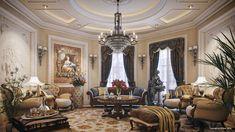 Luxury Villa Living Room Decor