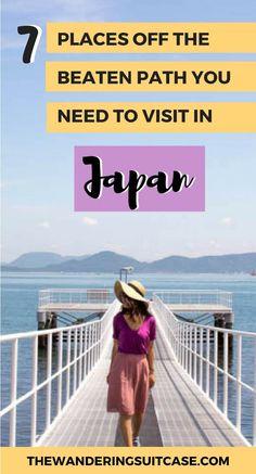 Places to visit in Japan | Off the beaten path Japan | Off the beaten track | Japan itinerary | Japan itinerary inspiration | Places to go Japan | #Japantravel #offthebeatenpathjapan via @wanderingsuitca