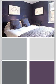 Neutrals and purple