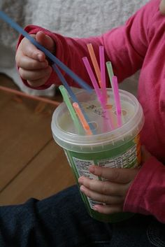 to develop fine motor skills - Re-pinned by #PediaStaff. Visit http://ht.ly/63sNt for all our pediatric therapy pins