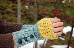 Chrochet Handwarmers, I need to learn to do chrochet =)