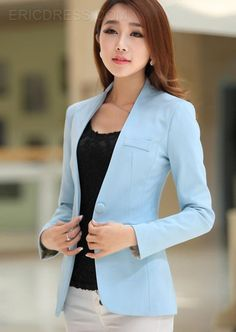 Candy Color Long Sleeves Elegant Blazers 8Colors 2