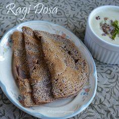 Divya's culinary journey: Ragi Dosa/ Finger millet crepes