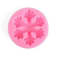 Large Snowflake Silicone Lace Mould Cake Fondant Decorating Embosser Mold