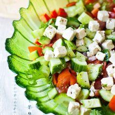 Loppukesän salaatti