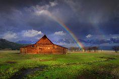 Grand Teton National Park - Moulton Barn