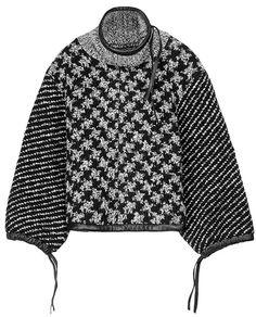 rag & bone Official Store, Ava Oversized Pullover, black fl, Womens : Ready to Wear : Sweaters : Wool, W2356B38E