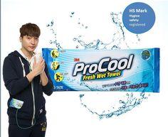 3M PROCOOL Fresh Wet Towel 10 Pcs Individual Pack Cool Touch Big Size 4 Summer #3mprocool#fresh#summer#outdoor#wet towel#bigsize