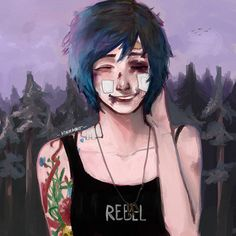 Chloe Price, I'm like legitimately in love with  this character. What has this game done to me?