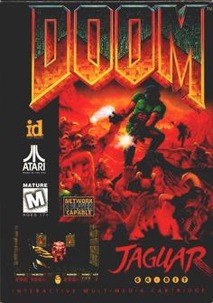 doom #atari jaguar complete 64 bit from $60.64