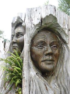 incredible wood carvings ✿⊱╮