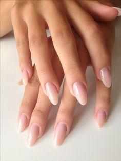 Nageldesign - Nail Art - Nagellack - Nail Polish - Nailart - Nails nageldesign Buying Gently Used Ba Pink Nails, My Nails, Matte Nails, Sparkle Nails, Natural Looking Acrylic Nails, Almond Acrylic Nails, Acrylic Gel, Acrylic Nails For Summer Almond, Neutral Acrylic Nails