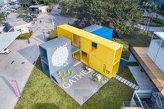 Infitity 6 Pop up Campus Installation, Shenzhen (China), por Crossboundaries Pop Up, School Site, Teaching Programs, Future School, Pavilion Architecture, Container Architecture, Learning Spaces, Interactive Design, Public School