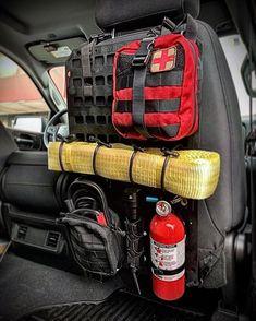 Get your emergency road hazard gear organized on our x Heavy Duty RMP. Tactical Truck, Tactical Gear, Tactical Backpack, Adventure 4x4, Rifle Rack, Navara D40, Overland Gear, Vw Tiguan, Truck Storage