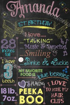Items similar to Digital File - Chalboard first birhtday GIRL on Etsy Birthday Fun, 1st Birthday Parties, Birthday Ideas, Party Gifts, Tea Party, 1st Birthday Chalkboard, My Favorite Food, My Favorite Things, Mad Hatter Tea
