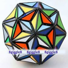 New Very Puzzle Black 32 surfaces Super Star Magic Cube Football Ⅲ Puzzle Rare