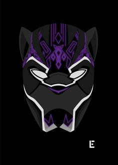 Glowing Black Panther by thelivingethan