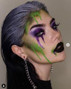 Halloween makeup ideas #halloween #makeupideas #halloweenmakeupideas Halloween Makeup Hacks, Halloween Eyes, Halloween Costumes, Makeup Eye Looks, Creative Makeup Looks, Makeup Looks Tutorial, Makeup Inspiration, Makeup Ideas, Fantasy Makeup