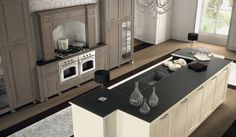 Lari. Classic Collection. Decorative features. Design by R&D Center. #design #kitchen #classic