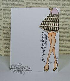 Julie Nutting card by Lee Ann Barrett-love it!