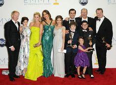 'Modern Family' cast at Emmy Awards - September 2012.