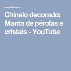 Chinelo decorado: Manta de pérolas e cristais - YouTube