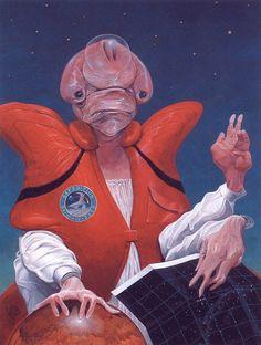 70s Sci-Fi Art: samuraifuckingfrog: Wayne Barlowe