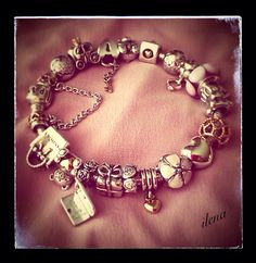 #MyPANDORA pink Pandora bracelet.ilena.