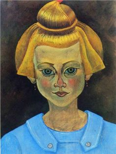 Portrait of a Young Girl, 1915 Joan Miro. Start Date: Completion Style: Abstract Expressionism. Dimensions: 200 x Gallery: Fundació Joan Miró, Barcelona, Spain. Hieronymus Bosch, Pablo Picasso, Spanish Painters, Spanish Artists, Harlem Renaissance, Jackson Pollock, Bel Art, Magritte, Salvador Dali