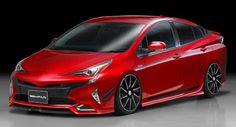 Wald 2016Toyota Prius Body Kit Preview Front Toyota Cars, Toyota Prius, Toyota Vehicles, Toyota Hybrid, Motorcycle News, Mode Of Transport, Dream Cars, Pure Products, Body Kits