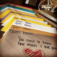 This is so sweet!:) Do this for your son or any of your children. www.lettertooursons.com