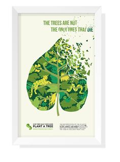 Advocacy Poster: Deforestation on Behance