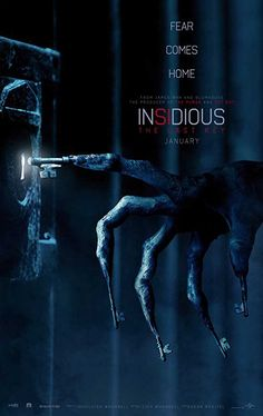 The first poster and new trailer for Insidious The Last Key is finally out. The fourth film in the highly successful scare serie. New Movies 2018, Hd Movies Online, Latest Movies, Films Hd, Imdb Movies, Free Movie Downloads, Full Movies Download, Scary Movies, Good Movies
