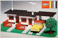 Lego Reihenhaus (353-1)