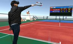 Vive Studios' 'VR Sports' is exactly what it sounds like Wii Sports, Sports Games, Cad Programs, Virtual Reality Games, Vr Games, Sounds Like, Game Design, Tennis, Tech News