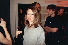 Sofia with MY husband, Thomas Mars in the background. Mine!