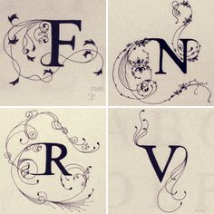 fancy letters - Google Search