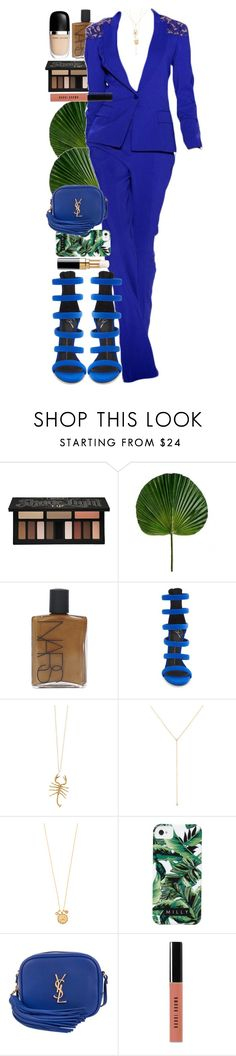 """""""We love the things we love for what they are."""" by quiche ❤ liked on Polyvore featuring Kat Von D, NARS Cosmetics, Giuseppe Zanotti, Elie Saab, Chanel, Jennifer Fisher, ZoÃ« Chicco, Tai, Milly and Yves Saint Laurent"""