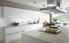 SieMatic S2 #cocina #blanca #brillo