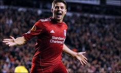 Without a doubt my favorite player of all time. Even if Liverpool finishes dead last this season, Steven Gerrard will always be at the top of my list.