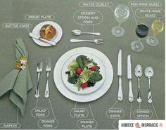 Dinner table good to know! Dinner table good to know! The post Dinner table good to know! appeared first on Esstisch ideen. Dinning Etiquette, Table Setting Etiquette, Table Settings, Place Settings, Etiquette Dinner, Correct Table Setting, Cena Formal, Etiquette And Manners, Table Manners