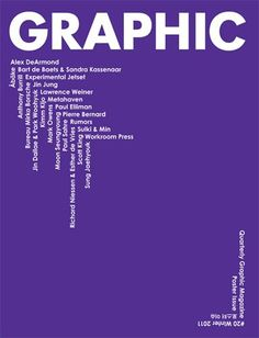 Image result for graphic magazine