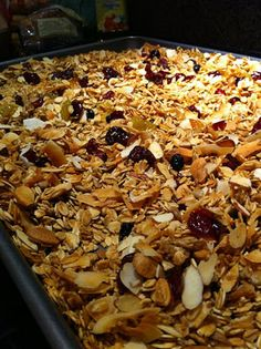 Valerie's Patch-Work: Gluten Free Granola