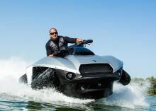 What I want for X'mas....been a very very good girl!  The Quadski holds one rider, goes from land to water in 5 seconds, and is able to travel on both at 45 mph. Read this article by Wayne Cunningham on CNET. via @CNET