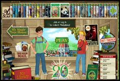 Magic Tree House Books Interactive Website for Kids! Kids LOVE Magic Tree House!!