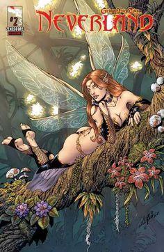 Tales from Neverland #2 Cover B Zenescope Comic GFT Nei Ruffino