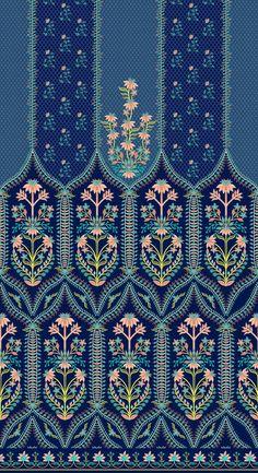 Textile Pattern Design, Motif Design, Textile Patterns, Pattern Art, Design Elements, Print Patterns, Print Design, Textile Prints, Textiles