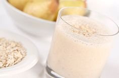Pear, Banana, Oat and Honey Breakfast Smoothie